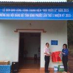 Đoàn Thanh niên Cao su Lộc Ninh trao Nhà nhân ái