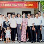 Khối thi đua số 10 tỉnh Bình Phước trao nhà tình thương