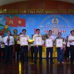 Ông Nguyễn Đức Huy đoạt giải Chủ tịch Công đoàn cơ sở giỏi Cao su Phú Riềng