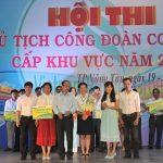 Chị Ngô Thị Hồng Dung giành giải nhất Hội thi Chủ tịch CĐ giỏi cấp khu vực