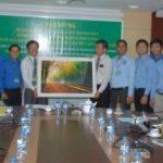 Đoàn Đại biểu Liên hiệp Thanh niên Bộ môi trường Campuchia thăm VRG