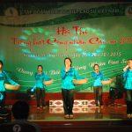 Khai mạc Hội thi Tiếng hát công nhân cao su khu vực II