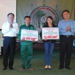 Khối thi đua số 9 hỗ trợ xây nhà tình thương
