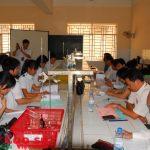 Trường CĐCNCao su được huấn luyện ATVSLĐtừ nhóm 1 đến nhóm 4