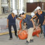 Tất bật trên công trường Nhà máy Gỗ MDF VRG - Kiên Giang