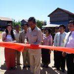 Công ty Hoàng Anh Mang Yang K khánh thành trường tiểu học ở Campuchia