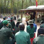 Cao su Đồng Nai: Hơn 80 công nhân về trước kế hoạch 60 ngày