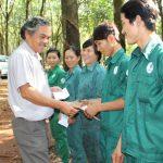 NT Lợi Hưng (Bình Long): 30 công nhân về đích trước 1 tháng