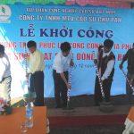 Cao su Chư Păh: Khởi công xây dựng nhà sinh hoạt cộng đồng