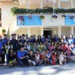 ĐTN Cơ quan VRG: Tặng quà cho các em khuyết tậttại Lâm Đồng