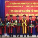 Trao bằng Trung cấp trồng trọt cho 48 công nhân cao su Bà Rịa