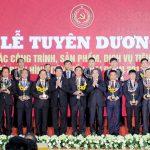 Công trình Dây chuyền 2 MDF VRG Quảng Trị được tôn vinh tiêu biểu 2011 - 2015