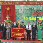 Cao su Bình Long kỷ niệm 40 năm thành lập