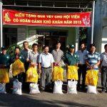 Tặng quà Tết cho 200 công nhân Cao su Dầu Tiếng