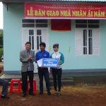 Hội Doanh nhân trẻ VRG trao nhà nhân ái cho công nhân Krông Buk