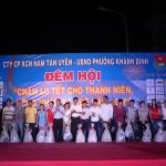 KCN Nam Tân Uyên tổ chức đêm hội cho công nhân xa quê