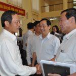 Đại biểu Quốc hội Trần Ngọc Thuận tiếp xúc cử tri trước kỳ họp thứ 11