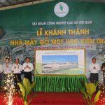 Nhà máy Gỗ MDF VRG Kiên Giang góp phần chuyển dịch cơ cấu kinh tế địa phương