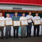 Cao su Lộc Ninh xuất sắc nhất khối thi đua số 10 tỉnh Bình Phước