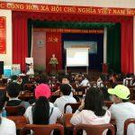 Trường CĐ Công nghiệp Cao su tư vấn tuyển sinh cho 500 em