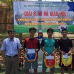 Trường Cao đẳng CN Cao su tổ chức giải bóng đá giao hữu