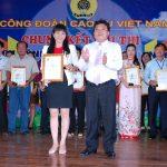 Nguyễn Thị Thanh Loan Phương giành giải nhất Chủ tịch Công đoàn giỏi