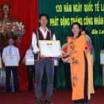 LĐLĐ tỉnh Gia Lai biểu dương 7 công nhân cao su