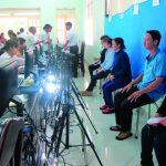 Công đoàn Cao su Phước Hòa đổi giấy phép lái xe cho người lao động