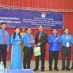 Đoàn TN VRG giao lưu và hoạt động tình nguyện tại Lào