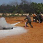 82 CBCNV Cao su Chư Păh tập huấn phòng cháy chữa cháy