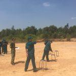 Lực lượng tự vệ cơ quan VRG huấn luyện bắn đạn thật