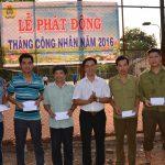 Cao su Tây Ninh động viên CNLĐ thi đua, phấn đấu ngay đầu mùa cạo