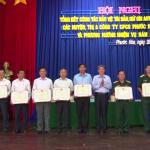 Cao su Phước Hòa giảm gần 19% vi phạm an ninh trật tự
