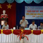 Ban lãnh đạo Cao su Dầu Tiếng đối thoại với CNLĐ