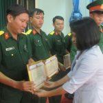 Cao su Phước Hòa - Trung đoàn 271: Thắt chặt tình đoàn kết quân dân