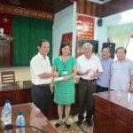 VRG hỗ trợ ngư dân Lý Sơn 150 triệu đồng
