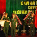 Công ty 715 đón nhận Huân chương Lao động hạng nhì