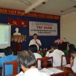 73 học viên tham gia tập huấn quy trình công nghệ chế biến