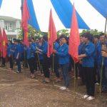 Thanh niên Cao su Lai Châu ra quân tình nguyện hè 2016