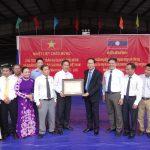 Chủ tịch nước Trần Đại Quang thăm Công ty TNHH Cao su Việt-Lào