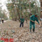 Nông trường Plei Kần (Kon Tum) hỗ trợ công nhân vượt khó