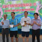Tổ chức giải quần vợt truyền thống cán bộ CĐ lần thứ III