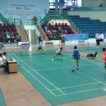 Chung kết cầu lông đôi nam Hội thao khu vực 1