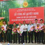 Thành lập Hội Cựu chiến binh Cao su Lộc Ninh