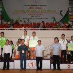 Hội thao khu vực II: Trao thưởng kéo co, quần vợt, điền kinh