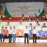Cao su Quảng Trị giải nhất toàn đoàn Hội thao khu vực II