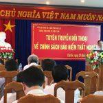 Cao su Chư Sê: Tuyên truyền đối thoại chính sách bảo hiểm thất nghiệp