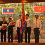 Công ty CPCS Dầu Tiếng - Việt Lào đón nhận Huân chương Hữu nghị