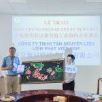 KCN Tân Bình trao Giấy chứng nhận quyền sử dụng đất cho nhà đầu tư
