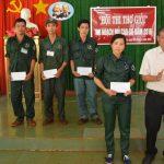 Nông trường VI tổ chức thi tay nghề đầu tiên của Cao su Lộc Ninh